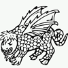 Coloring Pages: Dragon