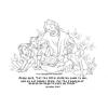 Coloring Page of Let The Little Children Come To Me