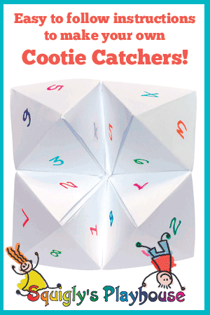 What do you write in a cootie catcher