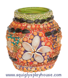Craft: Decorated Jar