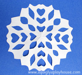 Craft: Perfect Paper Snowflakes