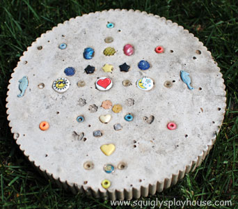 Craft: Garden Stepping Stones