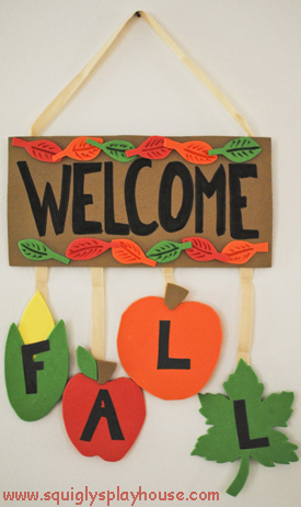 Autumn Craft: Fall Banner