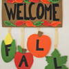 Craft: Fall Banner