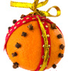 Craft: Orange Pomander