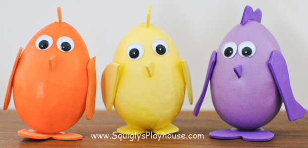 Easter Craft: Easter Chicks