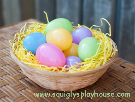 Easter Craft: Decorating Eggs
