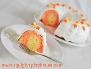 Halloween Recipe: Candy Corn Cake