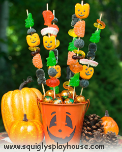 Halloween Craft: Candy Skewers