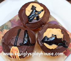 Recipe: Witch Cupcakes