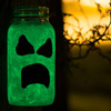 Craft: Glow-In-The-Dark Ghosts