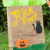 Craft: Halloween Treat Bags