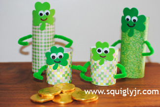 St. Patrick's Day Craft: Lucky Leprechauns