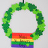 Craft: St. Patrick's Day Wreath