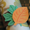 Craft: Leaf Napkin Rings