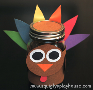 Fun Thanksgiving craft ideas for kids.