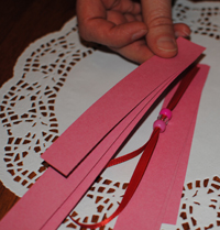 Valentine's Day Craft: Heart Shadows Instructions