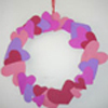 Valentine Craft: Valentine Wreath