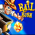 Action Game: Rail Rush