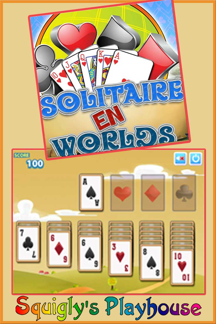 Play Solitaire En Worlds free online! A fun card game that has multiple levels.