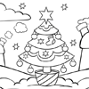Coloring Page: Christmas Tree