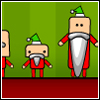 Online Xmas Game: Finding Santa