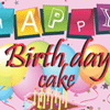 Free Online Game: Happy Birthday Cake