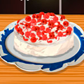 Cooking Game: Raspberry Cream Cake