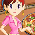 Cookng Game: Sara's Cooking Class:  Pizza