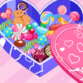 Valentine Game: Decorate My Candy Box