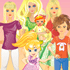 Dress Up Games: Five Daughters One Mother