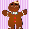 Free Online Game: Gingerbread Man Dress Up