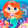 Mia's Mermaid Dress Up Online Dress Up Game