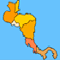 Online Map Game: Central America Quiz