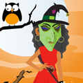 Dress Up Game: Witch Dress Up