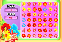 Online Match Game: Flower Frenzy