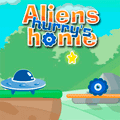 Puzzle Game: Aliens Hurry Home