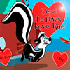 Online Pepe Le Pew Game: Pepe Le Pew Love Run