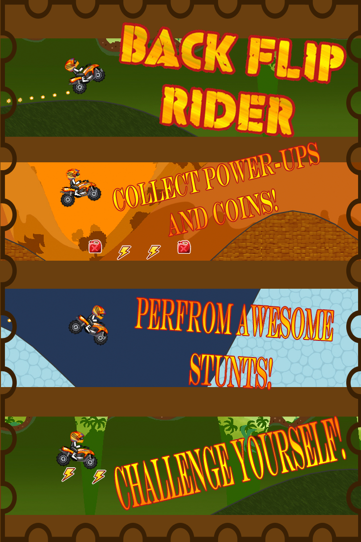 Get ready to race in this action packed game. Players collect coins and power-ups and are challenged to conquer the next level!