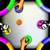 Free Online Game: Air Hockey 2x2