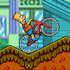 Online Simpsons Game: Bart on Bike