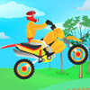 Online 2 Player Game: Bike Thrill Ride