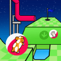 Two Player Game: Hamster Mini Golf