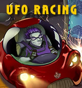2 Player Game: UFO Racing