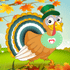 Dress Up Game: Cute Turkey Dress Up
