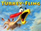 Online Thanksgiving Game: Turkey Fling