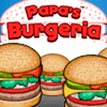 Online Time Management Game: Papa's Burgeria