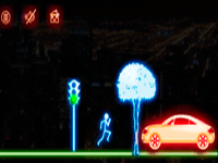Neon Man Mobile Game