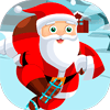 Free Online Game: Santa On Skates