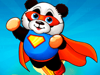Super Panda Vault Mobile Game